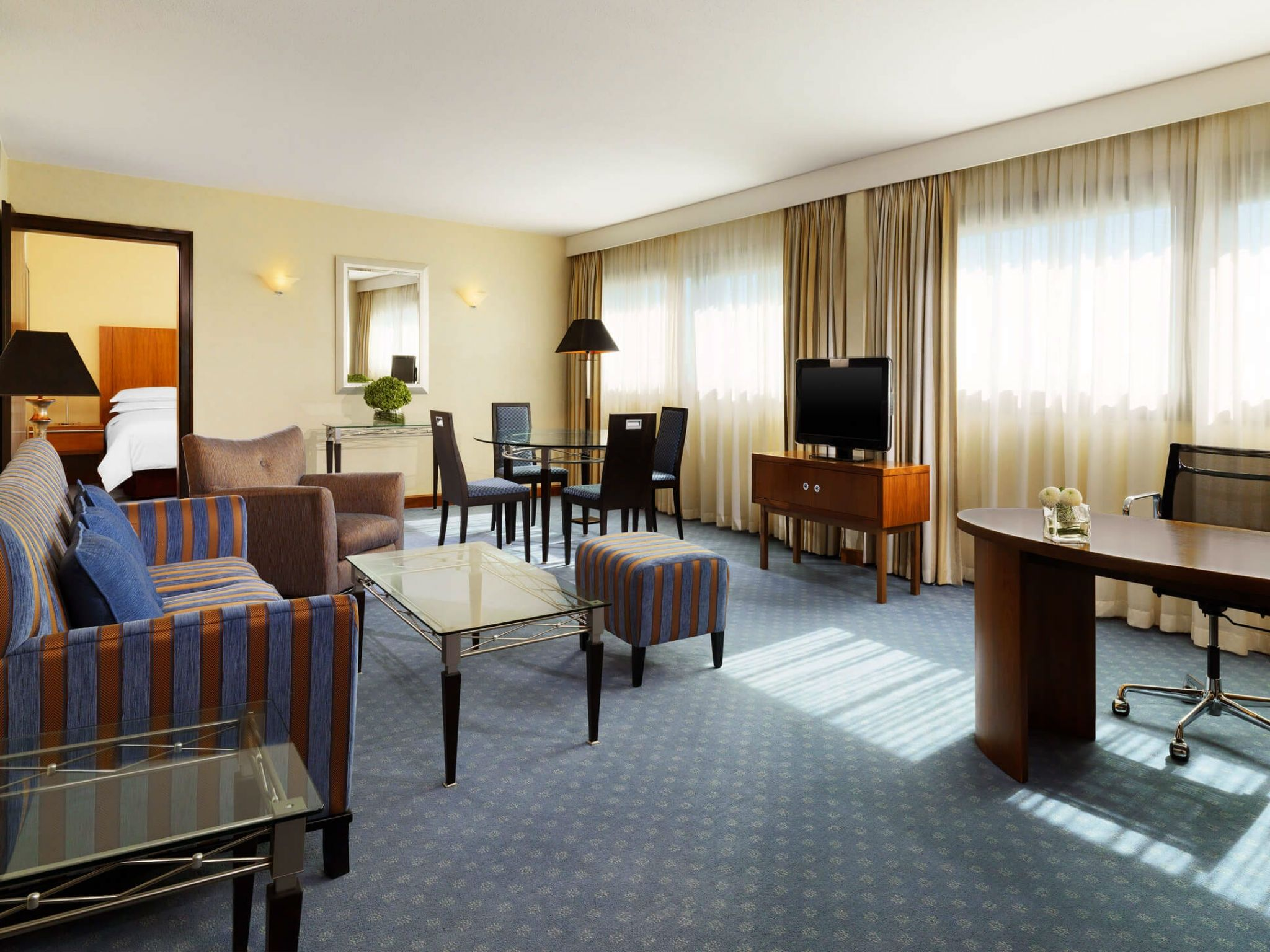 Junior Suite Frankfurt - Sheraton Frankfurt Airport Hotel & Conference Center